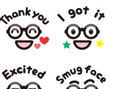 Smug Face Stickers 1.0 Screenshot