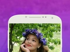Snap Flower Crown Stickers 1.0 Screenshot