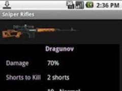 Sniper Rifles 1.0 Screenshot