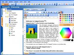 SnippetCenter Professional 2.1.0.60 Screenshot