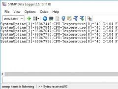 SNMP Data Logger 2.7.5.927 Screenshot