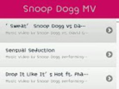 Snoop Dogg music video MTV M/V 1.2 Screenshot