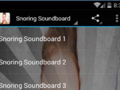 Snoring Sounds 1.0 Screenshot