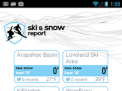 Ski and Snow Report 3.3.2 Screenshot