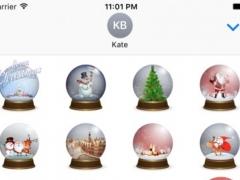 Snow Globe Stickers 1.0 Screenshot