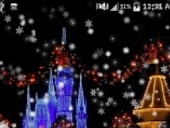 Snow Night City LWP (NO AD) 1.0.2 Screenshot