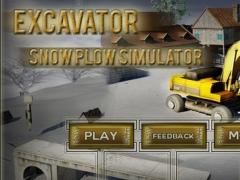 Snow Plowing Simulator - Heavy Excavator Machine 3D 1.1 Screenshot