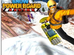Snow Powerboard Racing ( 3D Speed Sports Power board stunts racing offroad game on Fast ice road tracks with real ragdoll physics ) 1.0 Screenshot