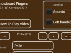 Snowboard Fingers 1.1.0 Screenshot