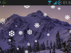 Snowfall Live Wallpaper Free 1.03 Screenshot