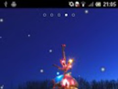 Snowfall LWP 3.0 Screenshot
