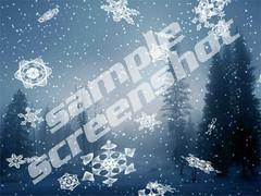 Snowfall3D Screensaver 1.0 Screenshot