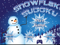 Snowflake Sudoku Full 1.02 Screenshot