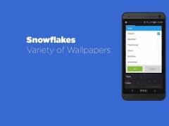 Snowflakes Live Wallpaper Free 2.9 Screenshot
