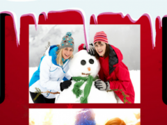 Snowman Photo Collage 1.3 Screenshot
