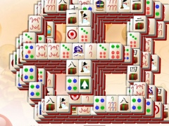 snowy window christmas mahjong 10 screenshot