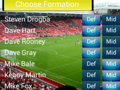 Soccer for Android (Lite) 1.35 Screenshot