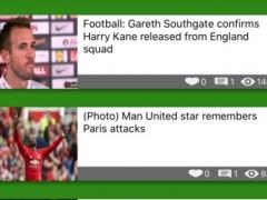 Soccer News - All soccer worldwide breaking news 1.3 Screenshot