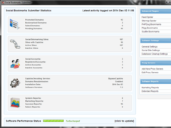 Social Bookmarks Submitter 9.0 Screenshot