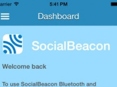 SocialBeacon 1.5.1 Screenshot
