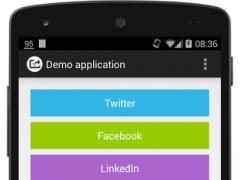 SocialURLShare Demo app 0.1.0 Screenshot