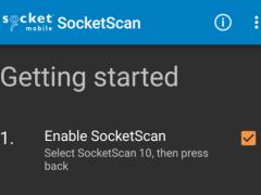 SocketScan Keyboard Wedge 10.3.0.23 Screenshot