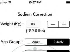 Sodium Calculator 1.0 Screenshot