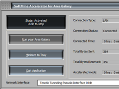 SoftMine Accelerator for Ares Galaxy 1.5.0 Screenshot