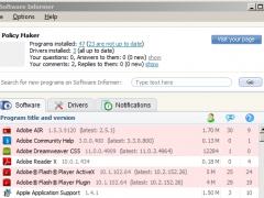 Software Informer 1.1 Screenshot