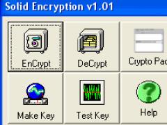 Solid Encryption 1.21 Screenshot