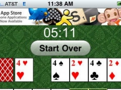 Solitaire on myHIP 1.0 Screenshot