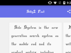 Solo Font Royal 1.0.0 Screenshot