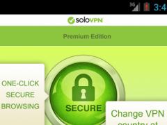 SoloVPN Anonymous, Safe & Fast 2.4 Screenshot