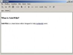 SoloWiki 0.3 Screenshot