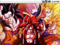 Son Goku Live Wallpaper 1.0 Screenshot