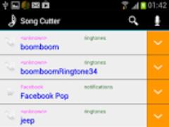 SONG CUTTER & RINGTONE MAKER 2 Screenshot