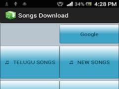 Songs Download 1.2 Screenshot