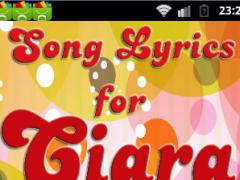 Songs Lyrics for CIARA 1.0 Screenshot