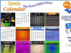 Sonic Calendar ActiveX Control 1.0.0 Screenshot