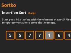 Sortko Sorts 1.0.3 Screenshot
