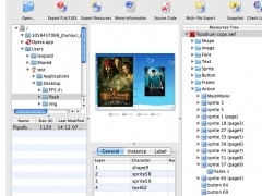 Sothink SWF Decompiler fuer Mac 6.0 Screenshot