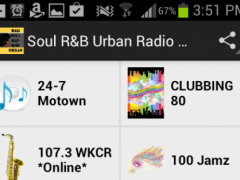 Soul R&B Urban Radio Stations 1.0 Screenshot