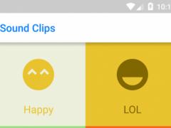 Sound Clips for Messenger 1.1 Screenshot