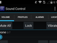 Sound Control Free 3.2.0 Screenshot