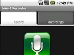 Sound Recorder - Donation 1.8 Screenshot