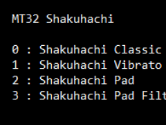 Shakuhachi SoundFont 1.0 Screenshot