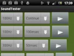 SoundTester 1.5 Screenshot