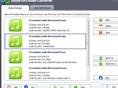SoundTurn Audio Converter 7.8.5 Screenshot