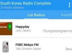 South Korea Radio Complete 1.0 Screenshot