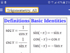SP MS Formulae App 1.0 Screenshot